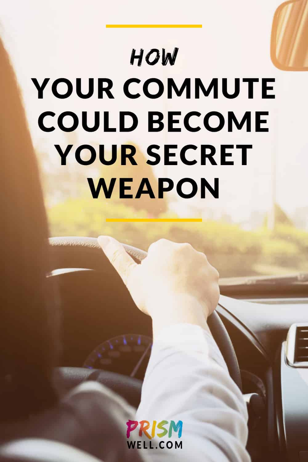 How to take back your tedious commute and turn it into an opportunity to transform your life - something you might even look forward to!