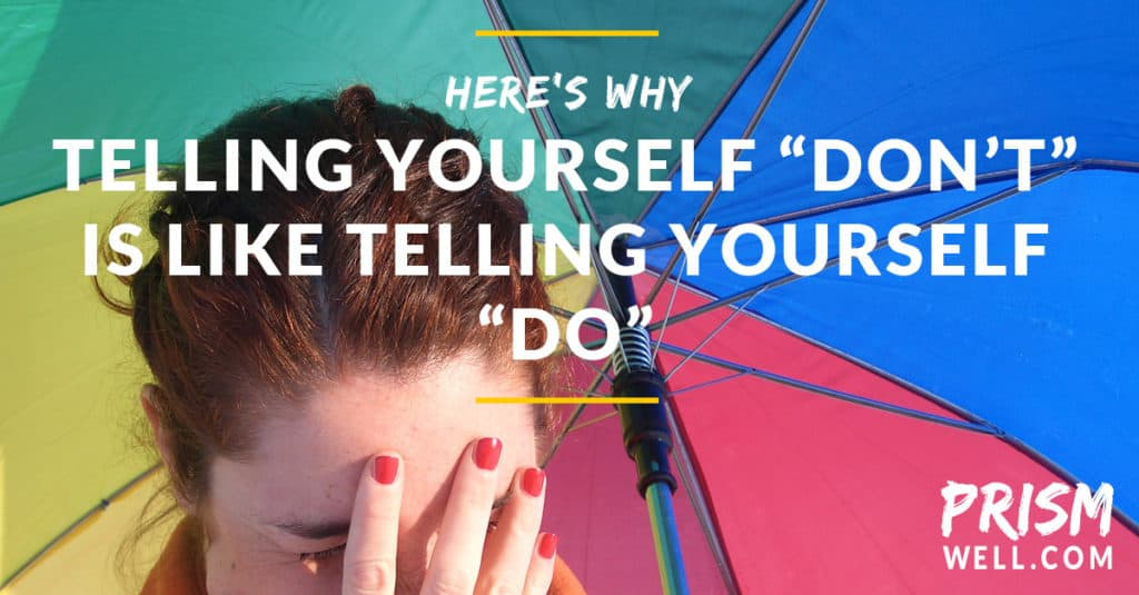Why Telling Yourself