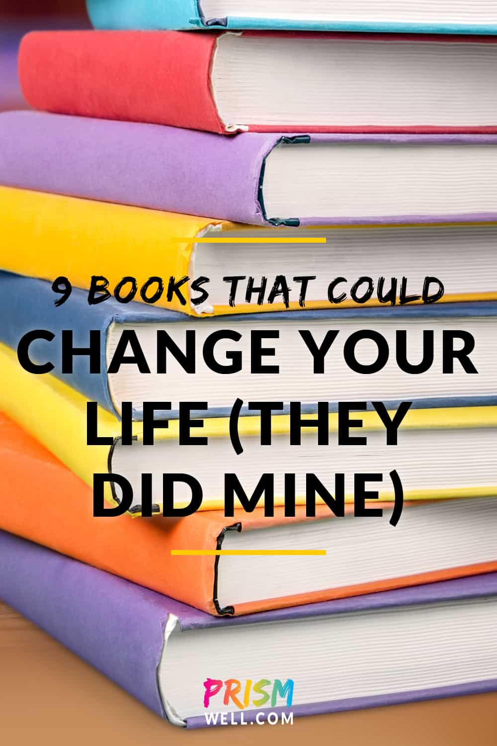 When I began my journey from Debbie Downer to Mary Poppins hopeful (a journey I am still very much on), these were the books that helped me change my life. If you're looking to improve your outlook, I'll tell you why each one has been meaningful to me and why I think it might help you.